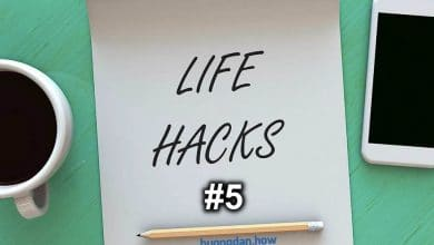 Photo of [Series] Life Hacks #5